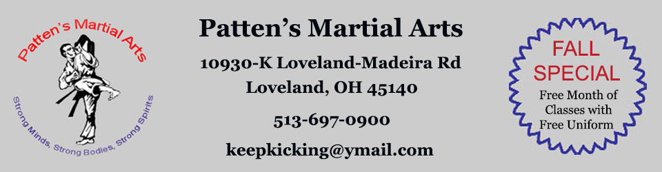Patten's Martial Arts Special